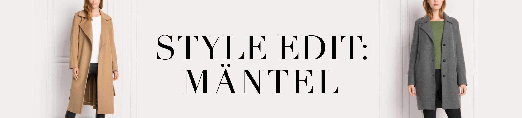 Style Edit - Mäntel