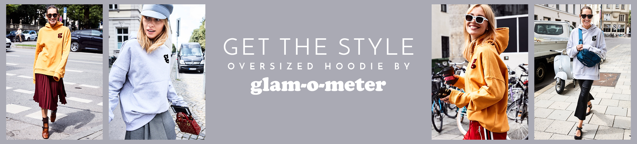 Get the Style: Oversized Hoodie