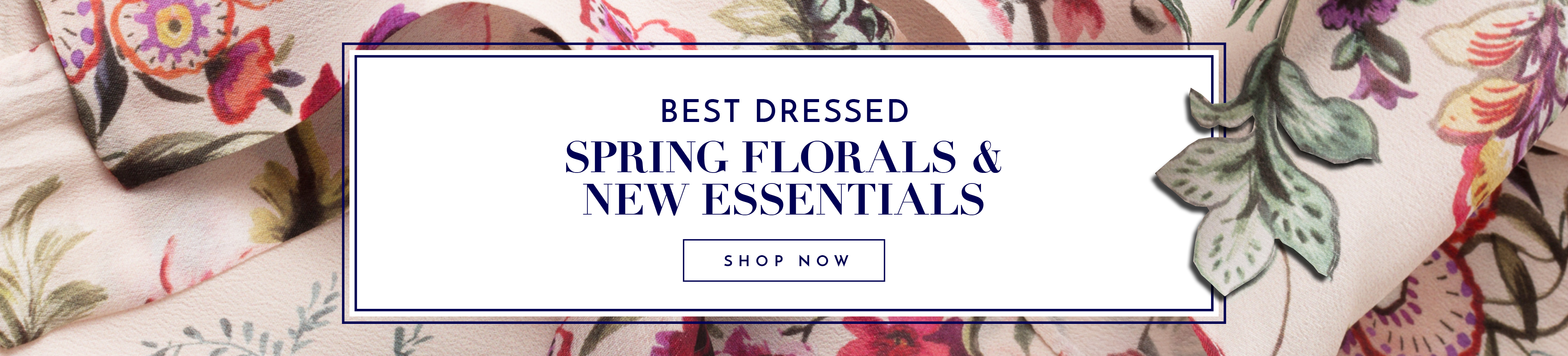 Get your Spring Look now