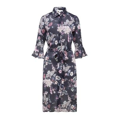 Hemdblusenkleid mit Flowerprint