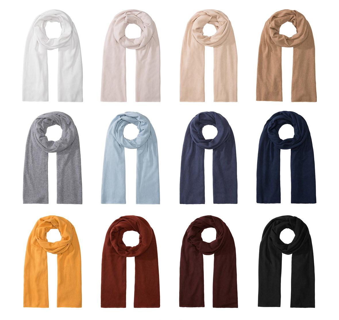 Cashmere-Schals in unserem Online-Shop