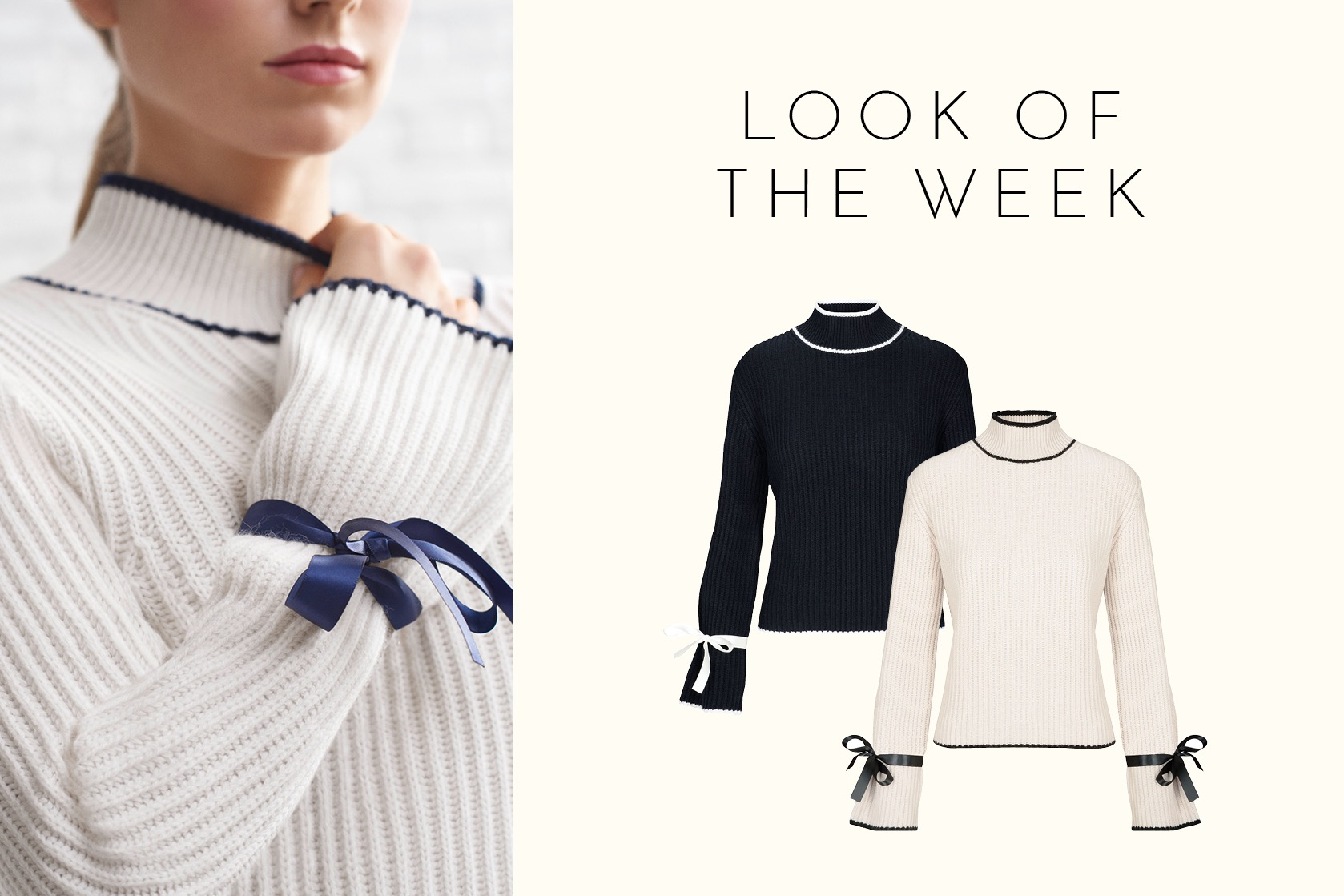 Exklusiv: New Season Trend - Lace-up Pullover