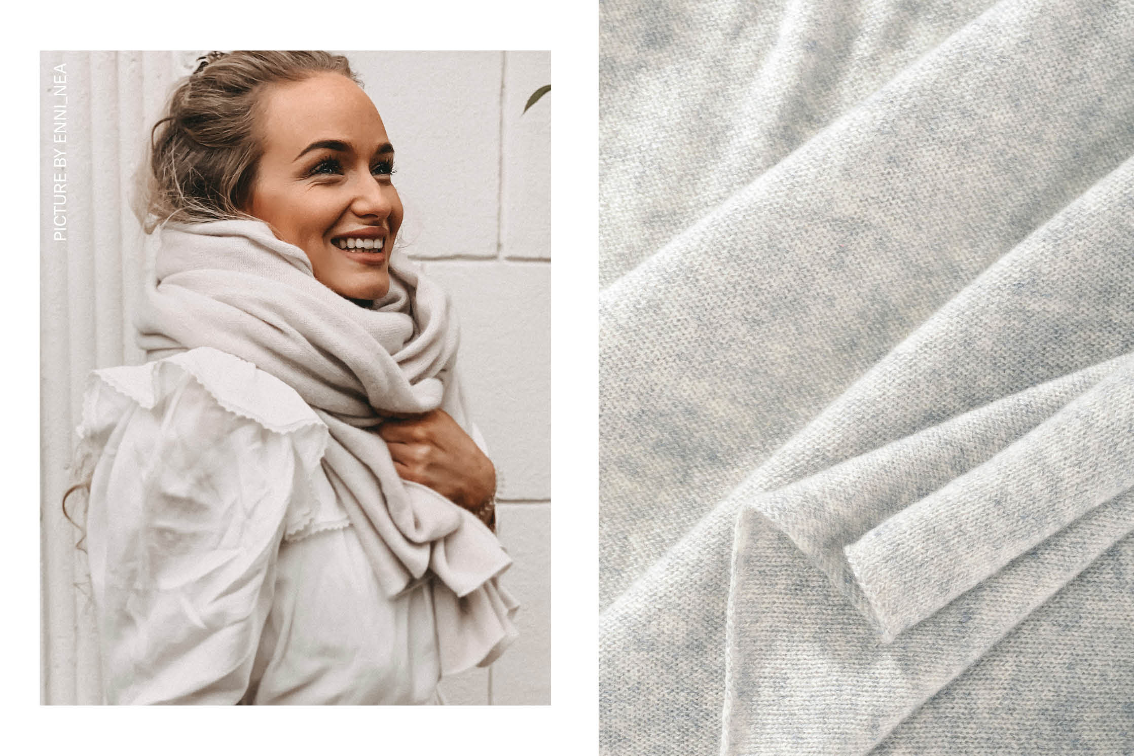 All about scarves - 100% Cashmere