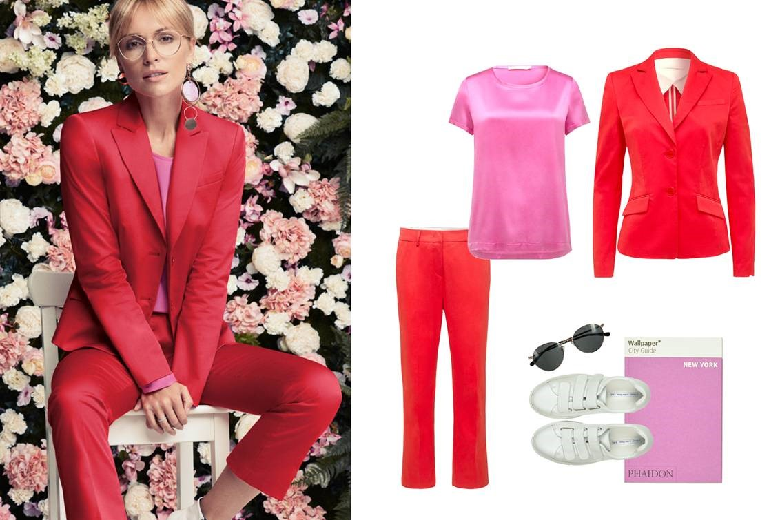 Lieblingslook - Let's go red