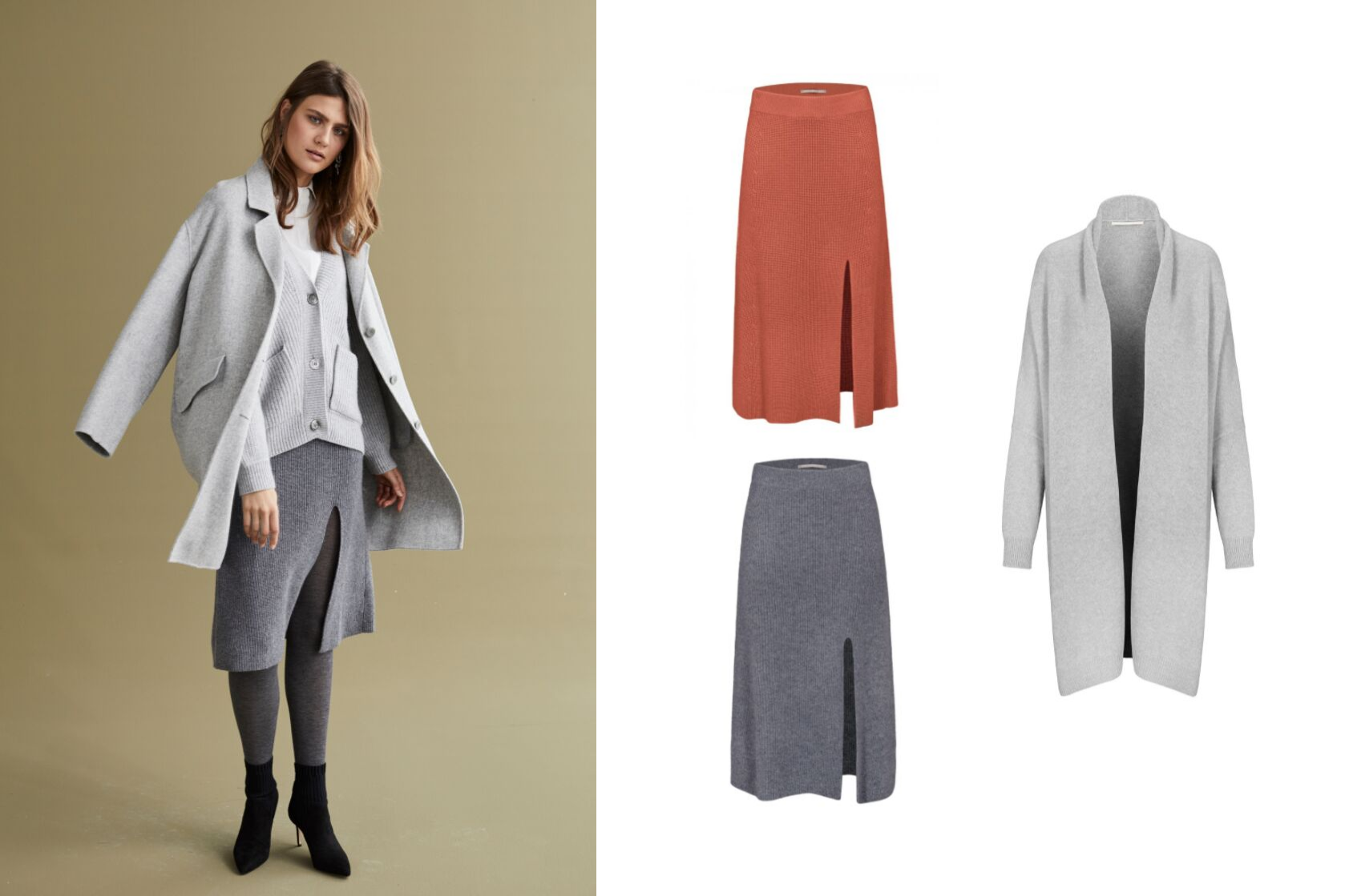 Die neuen Röcke - Cashmere is not just for jumpers!