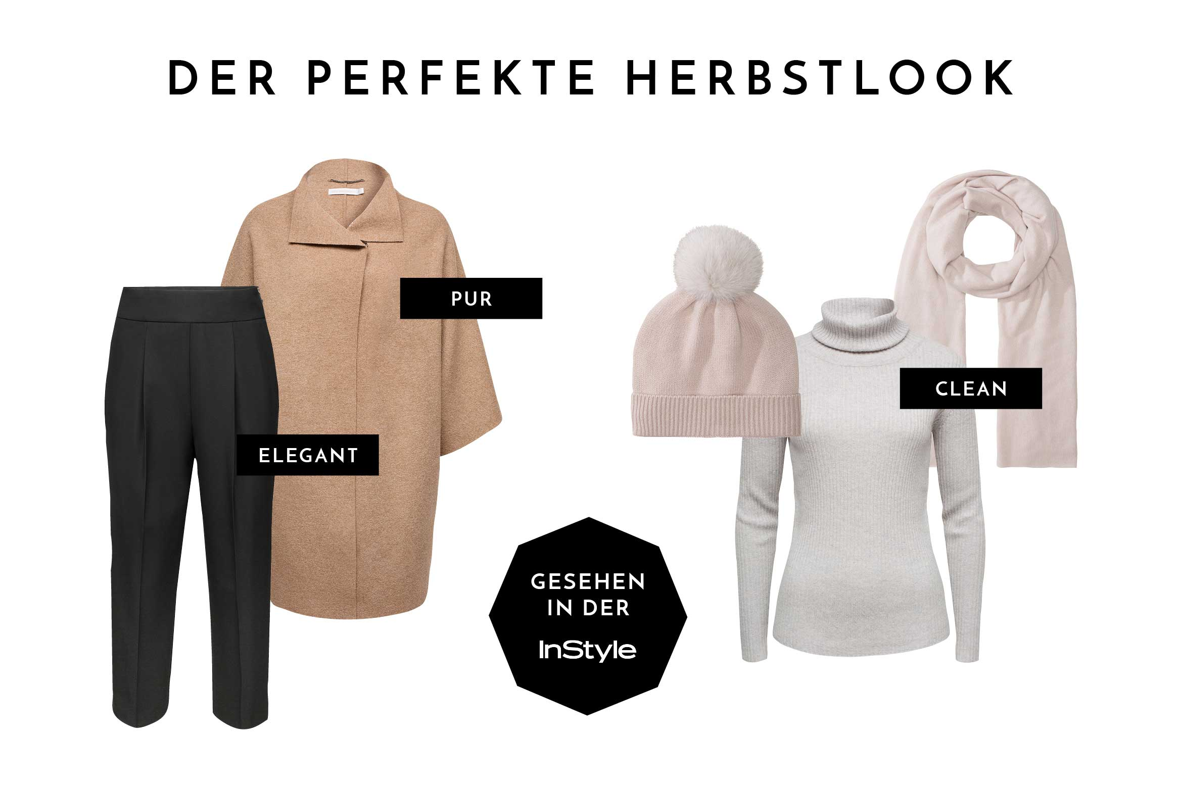 Pur & Clean - Cashmere Herbstlook